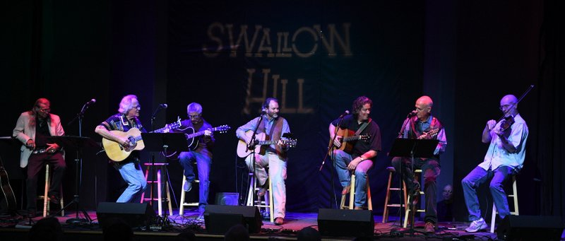 Jerry Faires, Jim, Ernie, Tom Munch, Jeff Troxel, Don Richmond, Gordon Burt, Chuck Pyle Tribute Concert, Swallow HIll, Oct. 2019