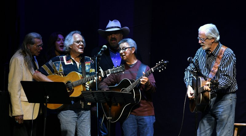Jerry Faires, Molly Watson, Jim, Jon Chandler, Ernie, Jack Williams, Chuck Pyle Tribute Concert, Swallow HIll, Oct. 2019