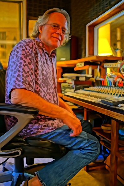 Jim in the studio